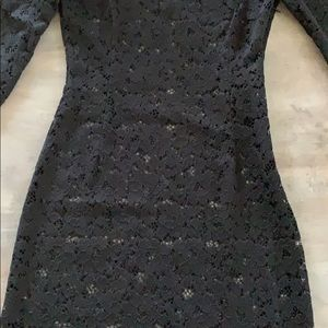 Zara Dresses - Zara lace body con dress